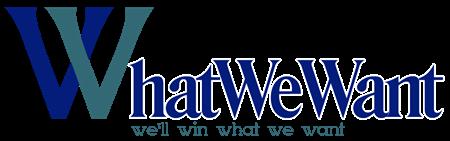 Logo of WhatWeWant